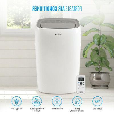 14 000 btu portable air conditioner dehumidifier