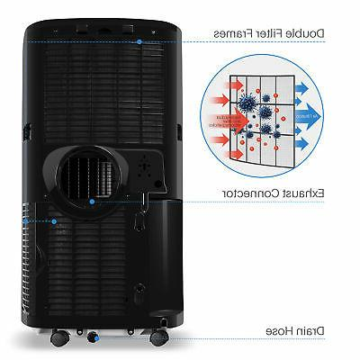DELLA A/C 1050W Heater Dehumidifier + Fan