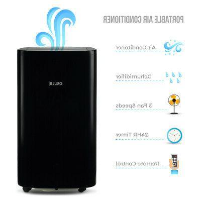 DELLA 14000 BTU A/C Air 1050W Heater + + Fan