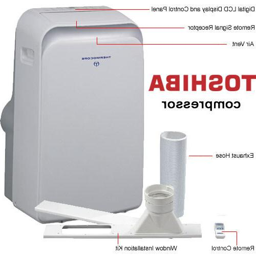 14000 BTU Portable Air Conditioner, Heat Pump & IONIZER / 14