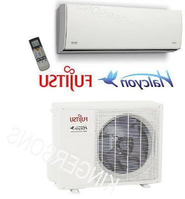 15000 BTU Ductless Mini Split Air Conditioner SEER 25 FUJITS