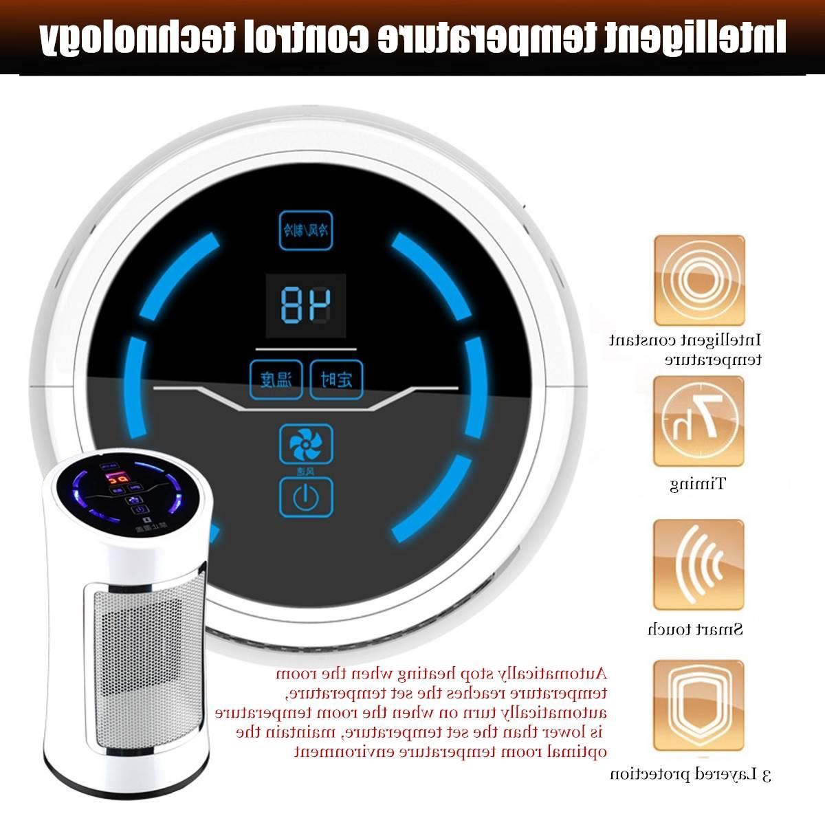1500W <font><b>Air</b></font> <font><b>Conditioner</b></font> Electric Timing <font><b>Heater</b></font> <font><b>Heater</b></font> Bathroom Heating Portable