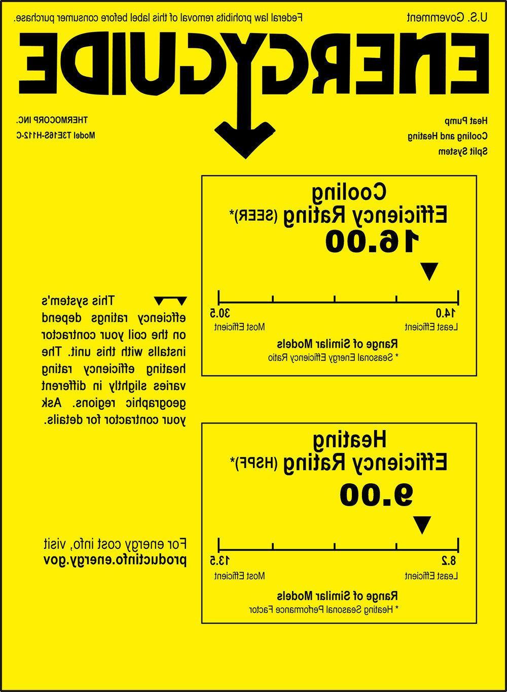 16 SEER 12000 Ductless AC Mini Split Air Conditioner -