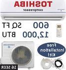 16 SEER 12000 BTU Ductless AC Mini Split Air Conditioner Hea