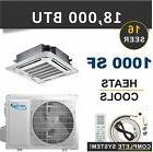 18000 BTU Mini Split Air Conditioner Heat Pump Ductless AC C
