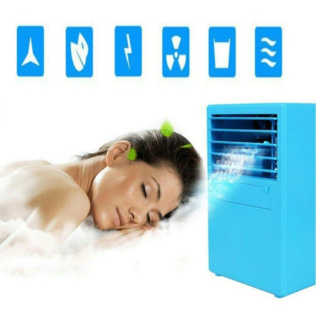 18W Portable AC Air Conditioner Fan Humidifier