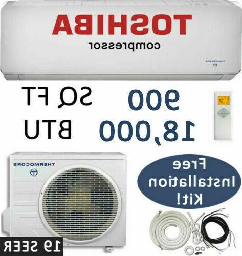 19 seer 18000 btu ductless air conditioner