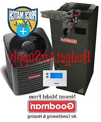 2.5 ton Ton 15 seer Goodman Heat Pump Multi-Speed GSZ14030+A
