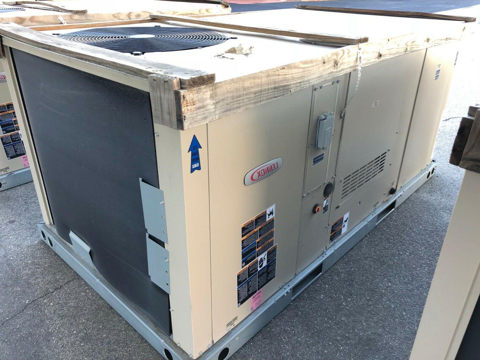 LENNOX 2 TON UNIT 208/230V GAS/ELEC ECONOMIZER AC & KGA024S4DS2