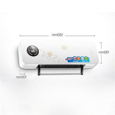 2000W Wall Mounted Heater Space Air Dehumidifier