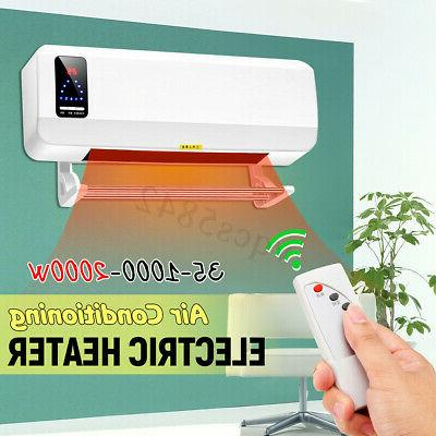 2000w wall mounted heater waterproof 220v timing