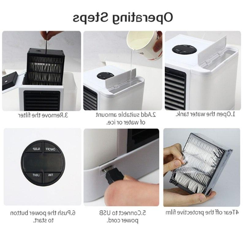 2020 New Portable <font><b>Air</b></font> Cooler Fan Office Device 7