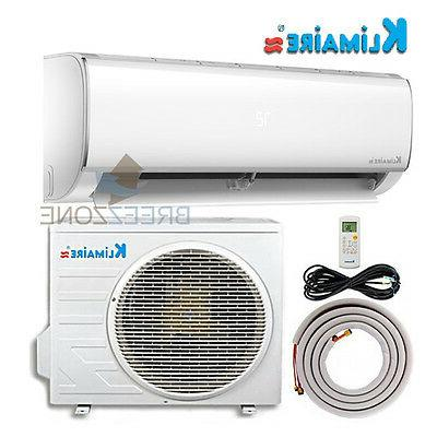 12000 BTU Variable Speed 16 SEER Ductless Mini Split Air Con