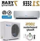 24000 BTU 21 SEER Ductless Mini Split Air Conditioner Heat P