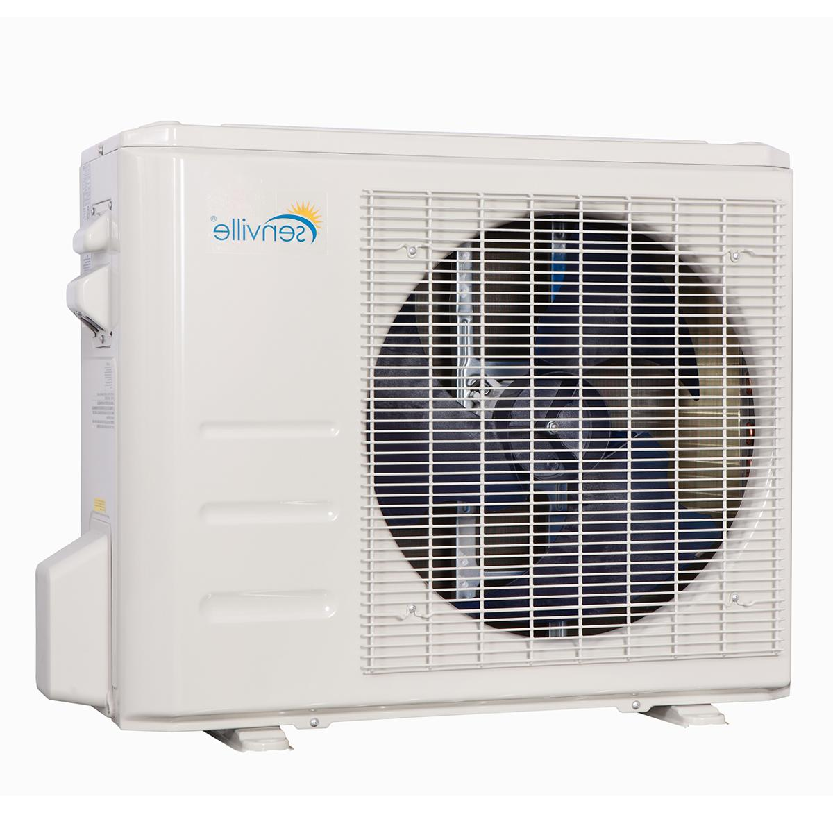 24000 BTU Ductless AC Mini Split Air Conditioner and Heat SEER 2 TON