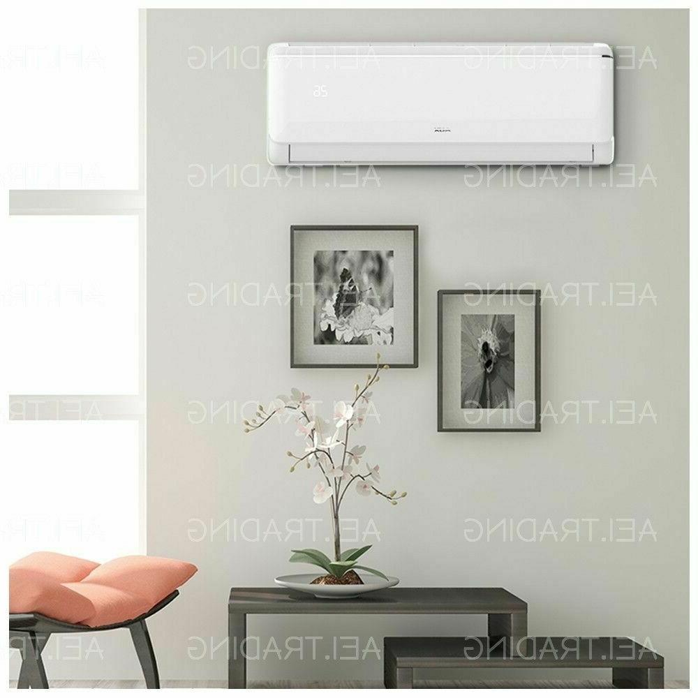24000 Ductless Conditioner, Heat Pump Split 220V: 2TON KIT&WIFI