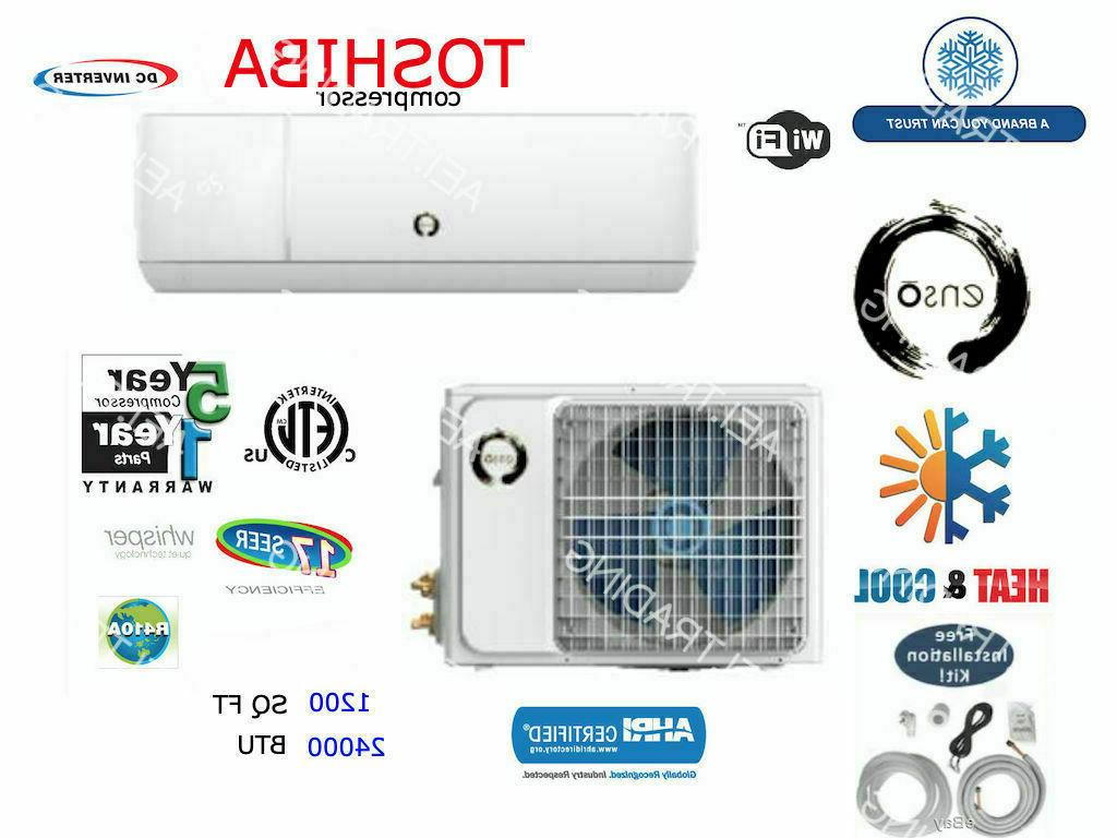 24000 btu ductless air conditioner heat pump
