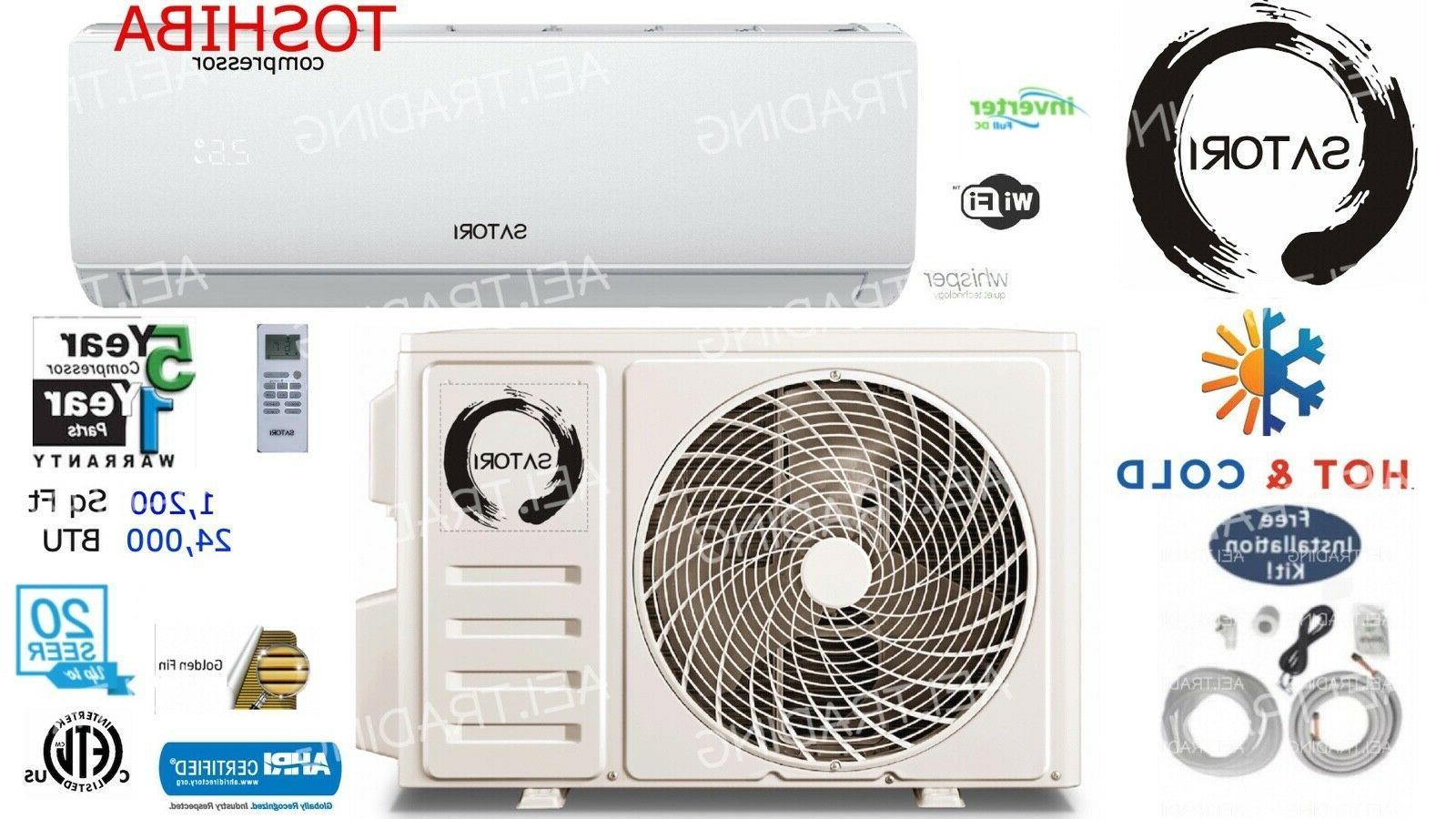 24000 btu ductless air conditioner heat pump