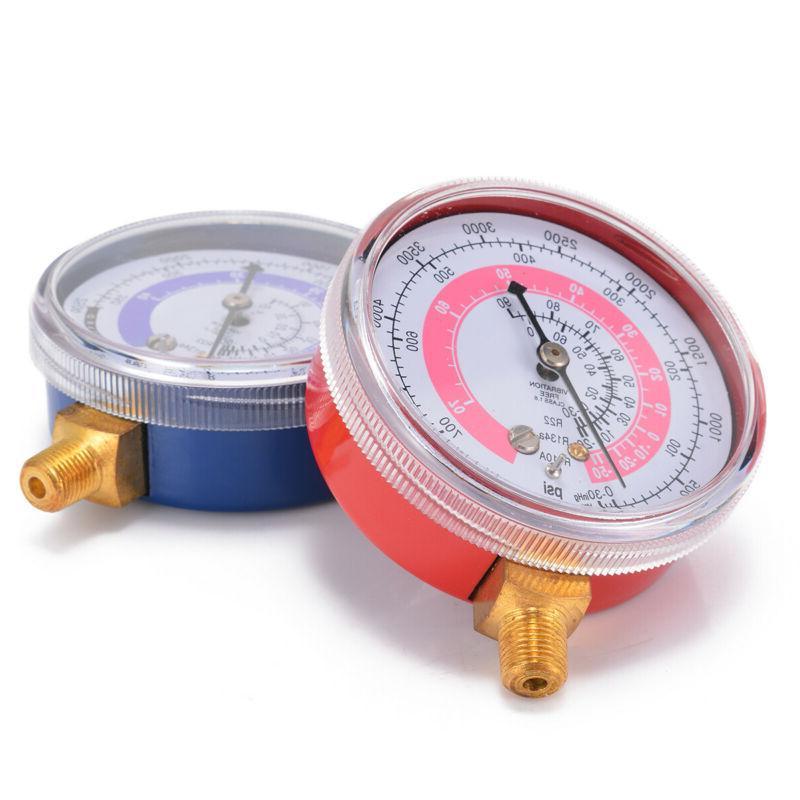 R134A R22 Refrigerant Pressure PSI Scale
