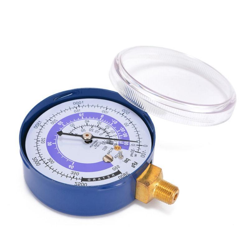 2Pc R134A R22 Pressure Gauge PSI Scale