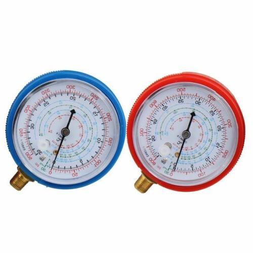2Pcs Air R134A R22 High Pressure PSI KPA