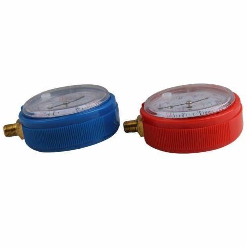 2Pcs Air R134A Refrigerant Low High Pressure PSI KPA