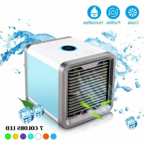 Portable Air Cooler Mini Air Conditioner Humidifier Purifier