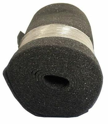 "30"" Filter Media Roll, 1/4""x25 ft., Foam AIR HANDLER 6U592"