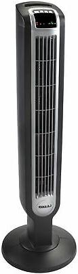 Lasko 36 Tower Fan With Remote Control In Black