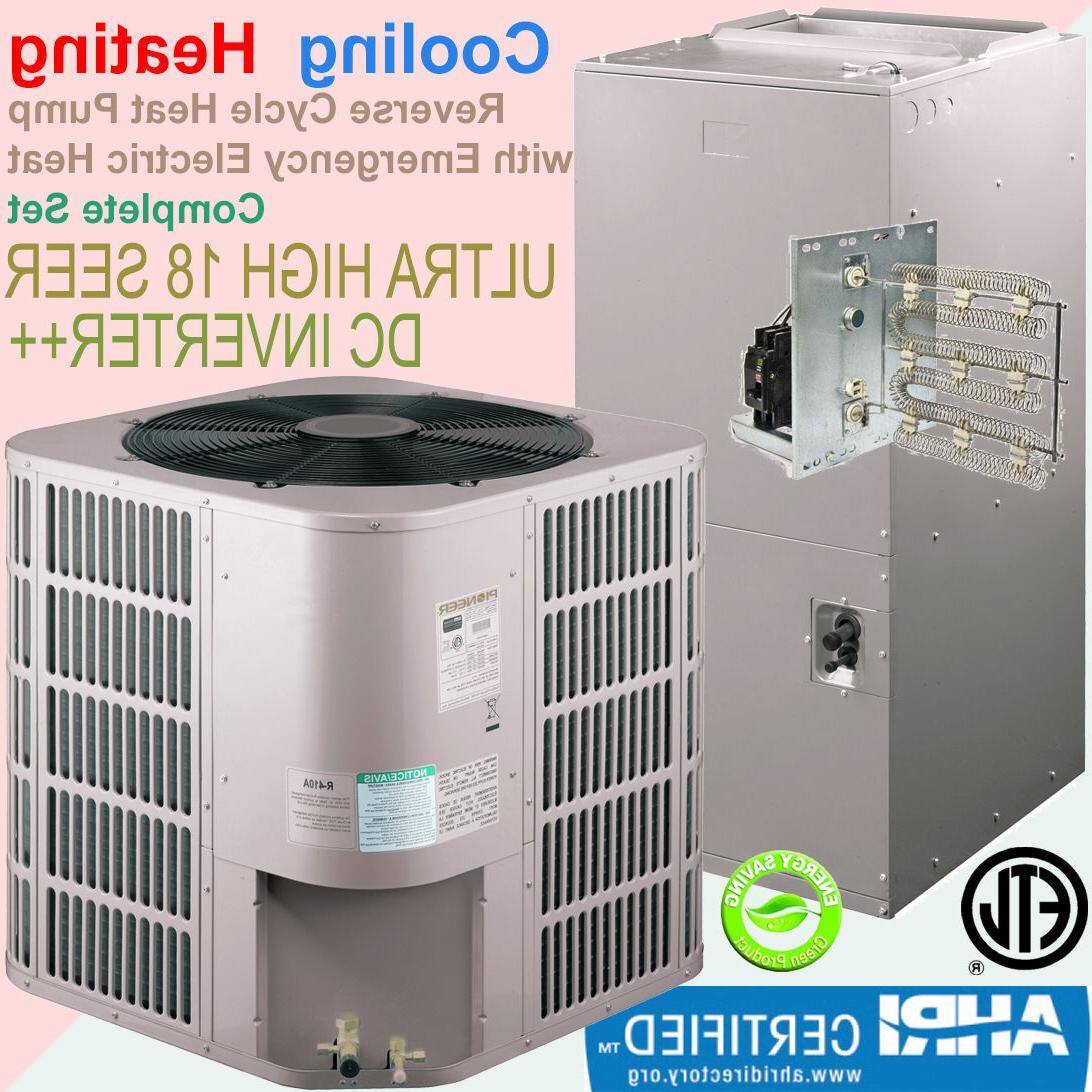 PIONEER 24000 BTU 2 Ton 17.5 SEER Inverter Central Ducted Sp
