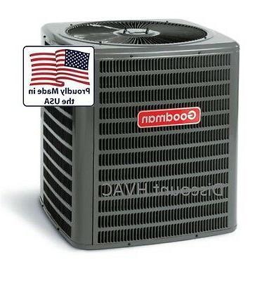 4 ton 14 SEER Heat Pump Goodman central AC unit gsz140481 co
