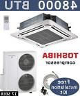 4 TON Ductless Mini Split Air Conditioner, Heat Pump Ceiling