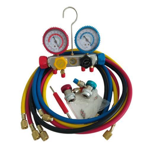 4 Diagnostic Manifold Set Air R22 R404A