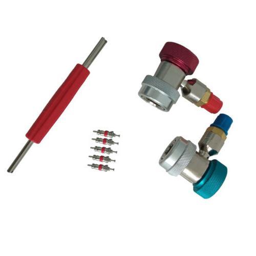 4 AC Diagnostic Manifold Gauge Air Conditioner R404A