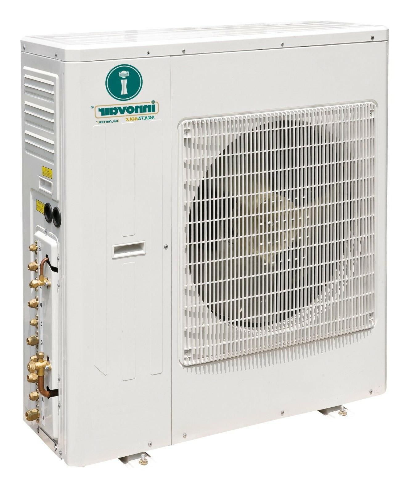45000 BTU Quad Ductless Mini Conditioner Heat Pump 21 Multi