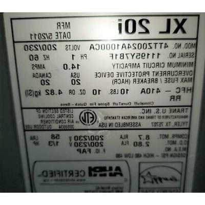 TRANE 4TTZ0024A1000CA TON XL AIR