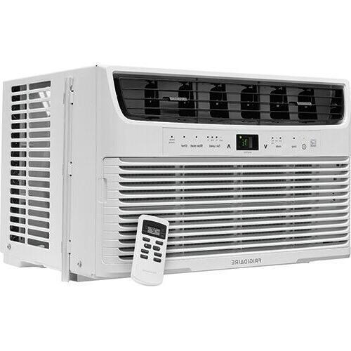 8,000 BTU 115V Window-Mounted Air Conditioner Temperature-Se