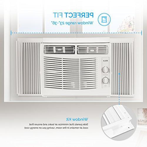 DELLA 5,000 BTU Air Conditioner Cool SQ FT Mechanical