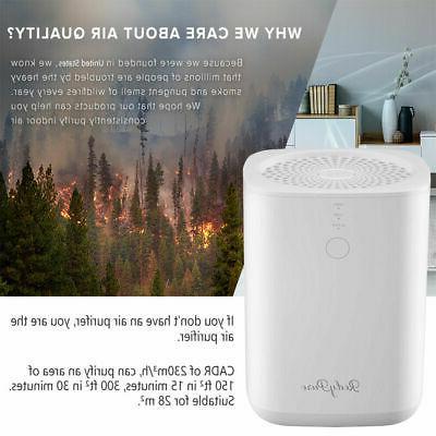 Air Purifier True HEPA Filter Air Cleaner Odor Allergies Eli