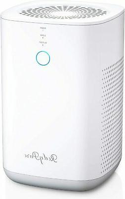 Quiet Air Purifier Cleaner True HEPA Home Air Purifier with