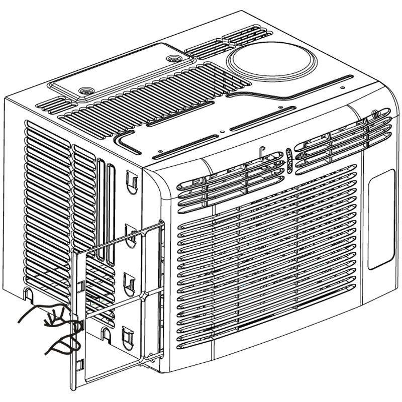 Kenmore Window Conditioner, Sq Ft Unit w/