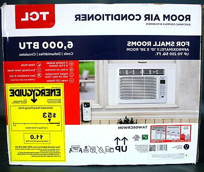 TCL 6,000 WINDOW AIR CONDITIONER REMOTE
