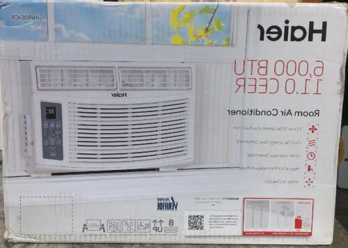Haier 6,000 BTUs Air Conditioner, White, HWR06XCR-L