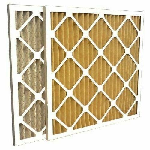 6 filters 16x25x1 merv 11 furnace air