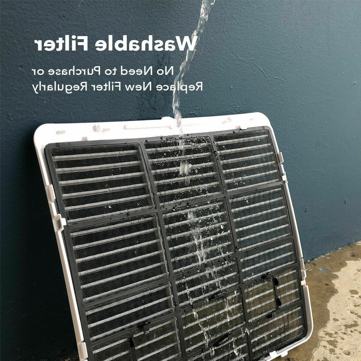 700 Sq.Ft 14000BTU Air + Heater 111