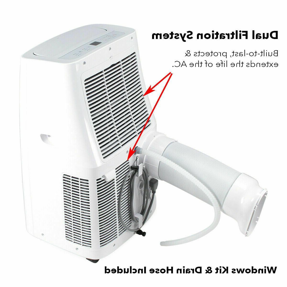 700 Air Conditioner 1050W Heater Pint Dehumidifier