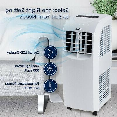 8,000 Air Conditioner Cooling Cool Fan w/ Remote, White
