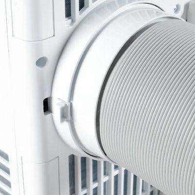 8,000 BTU Portable Conditioner Fan indoor White