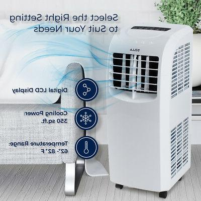 8,000 BTU Portable Air Conditioner A/C Fan indoor w/