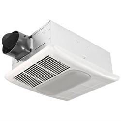 80 CFM Fan/Light Combo with Heater, Heater, With Light, 0 to